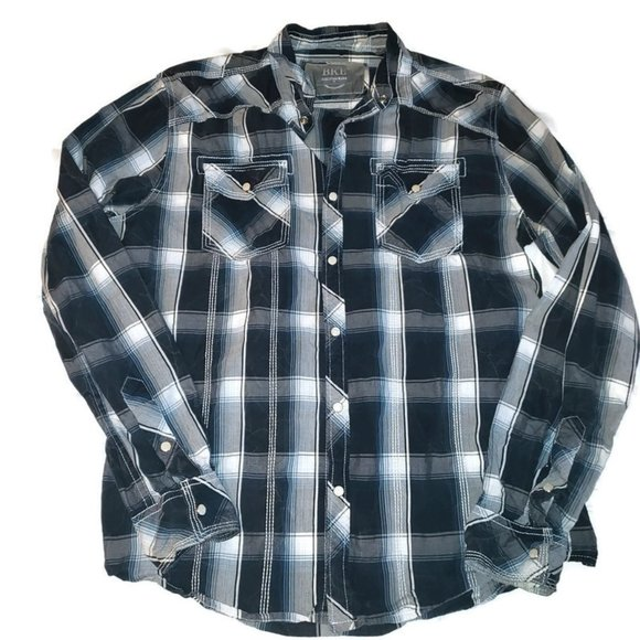 BKE Other - BKE BUCKLE MENS Athletic Fit long sleeve shirt